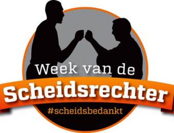 Week van de scheidsrechter 3 t/m 11 oktober