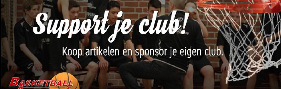 Webshop van Basketbal Academie Limburg